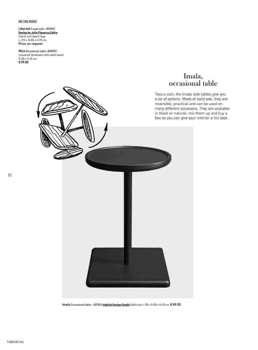 Table Habitat Occasion Habitat Aw 16 17 By Cloud Center Finland Issuu