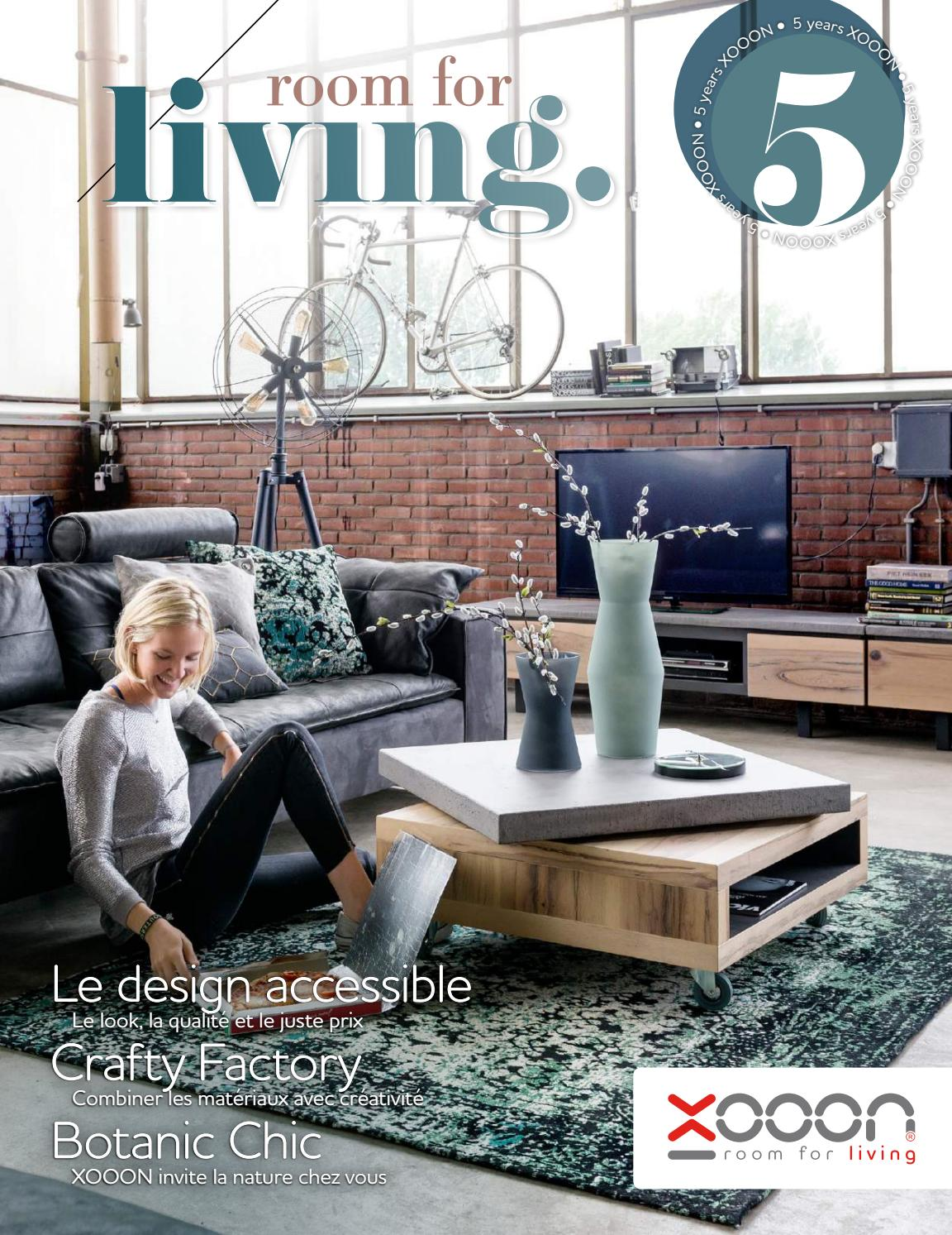 Xooon Fauteuils Xooon France Lookbook Catalogue 2016 2017 By Abitare Living Issuu