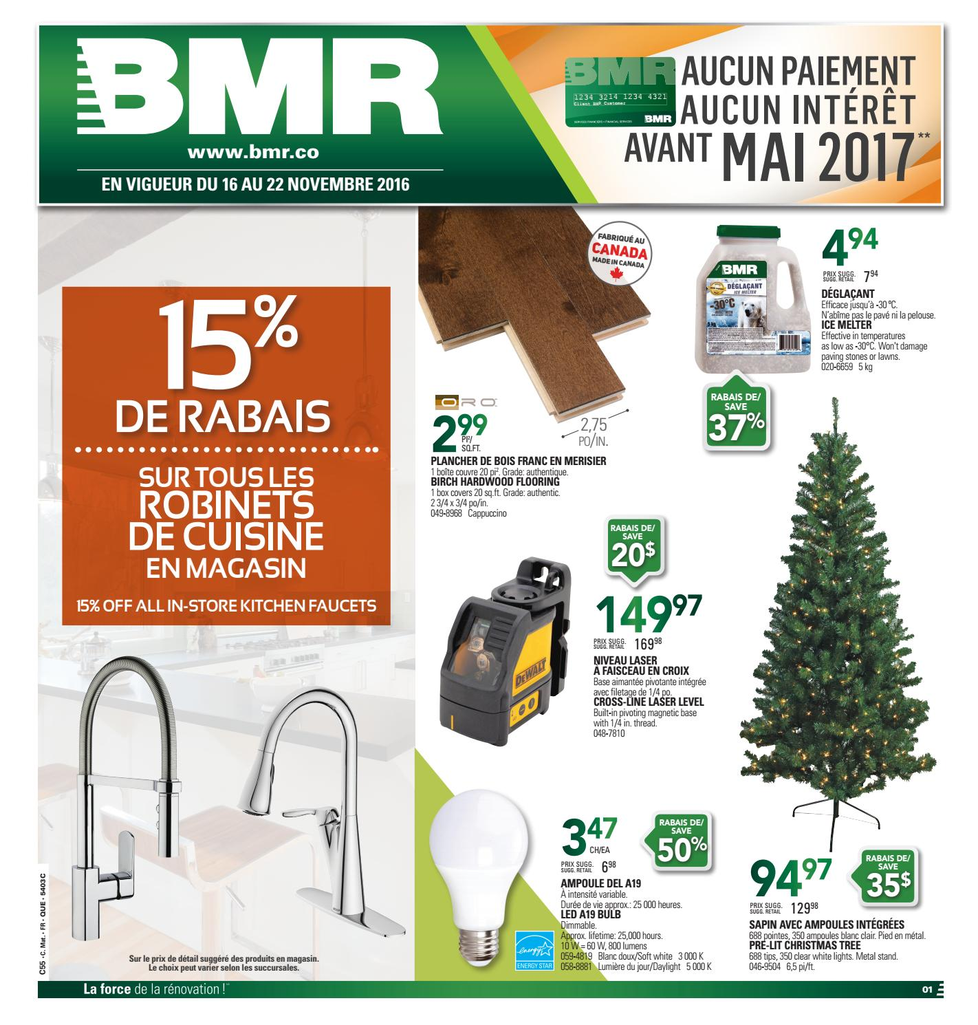Lumiere Exterieur Bmr Publisac Bmr Flyer 2016 Week47 By Salewhale Issuu