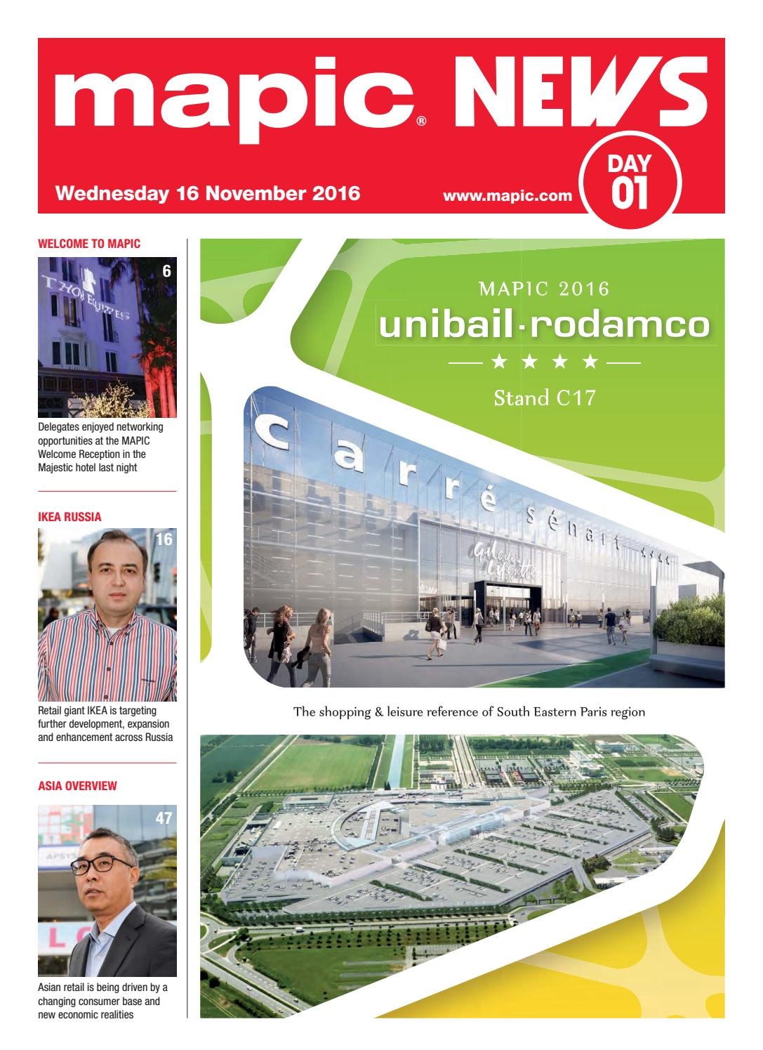 Bus Ikea Toulouse Mapic 2016 News 1 By Reed Midem Real Estate Shows Issuu