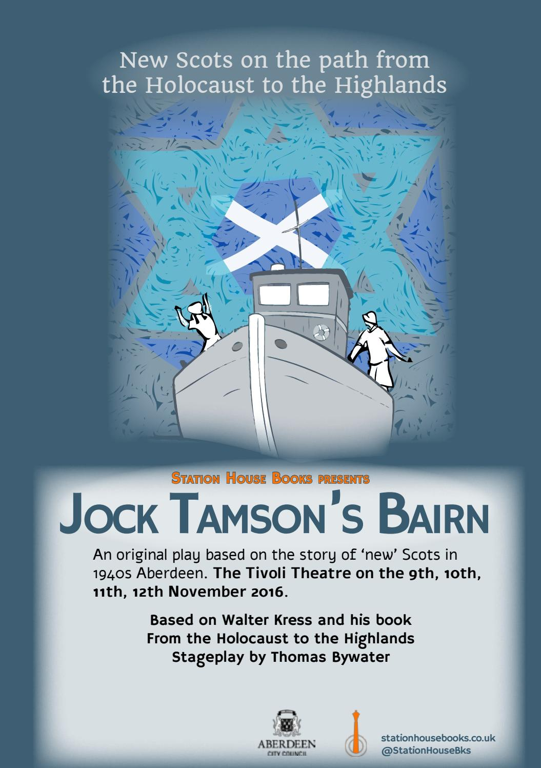 Tivoli Theatre Edinburgh Jock Tamson S Bairn The Tivoli Aberdeen By Station House Books