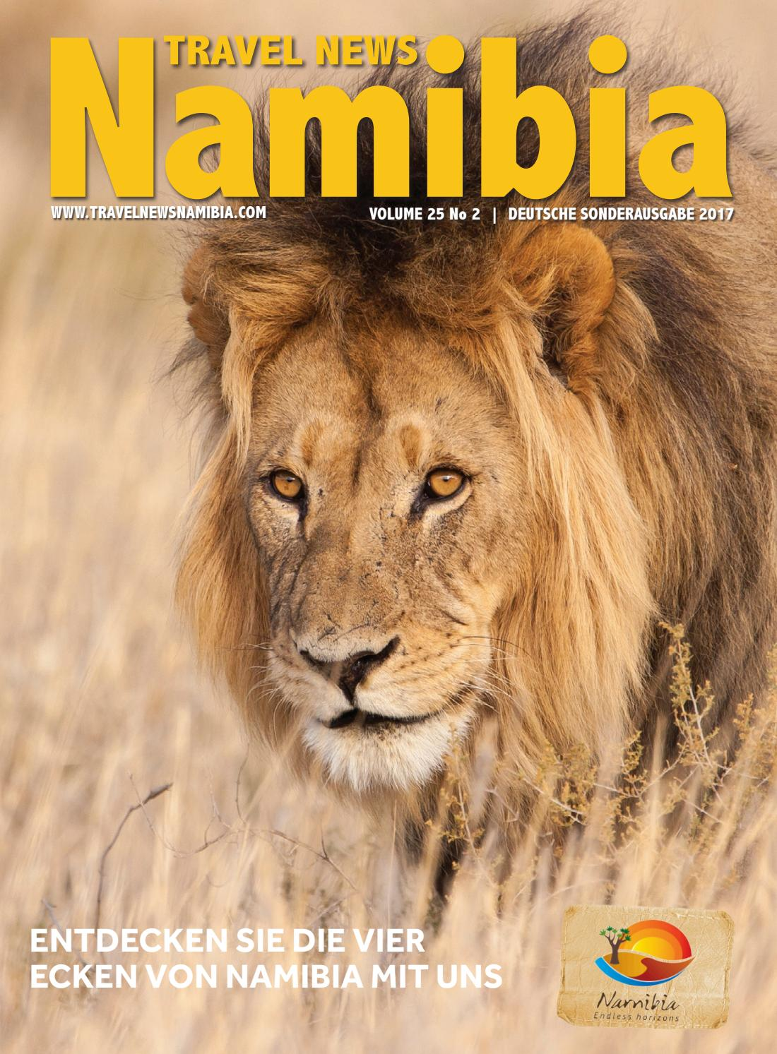 Travel News Namibia German 2017 By Venture Media Issuu
