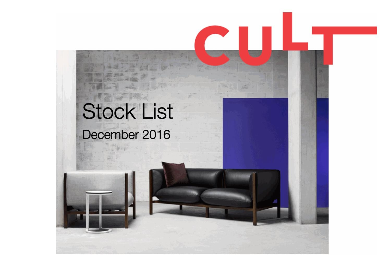 Sedie Frau Liz B Cult December Stock List