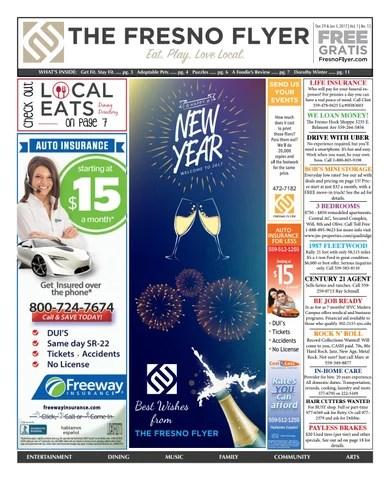 Fresno Flyer Vol 1 No 13 by Fresno Flyer - issuu