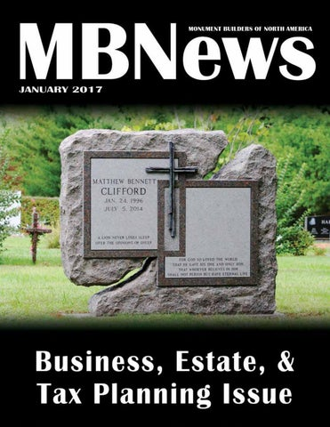 MBNews January 2017 by Monument Builders of North America - issuu