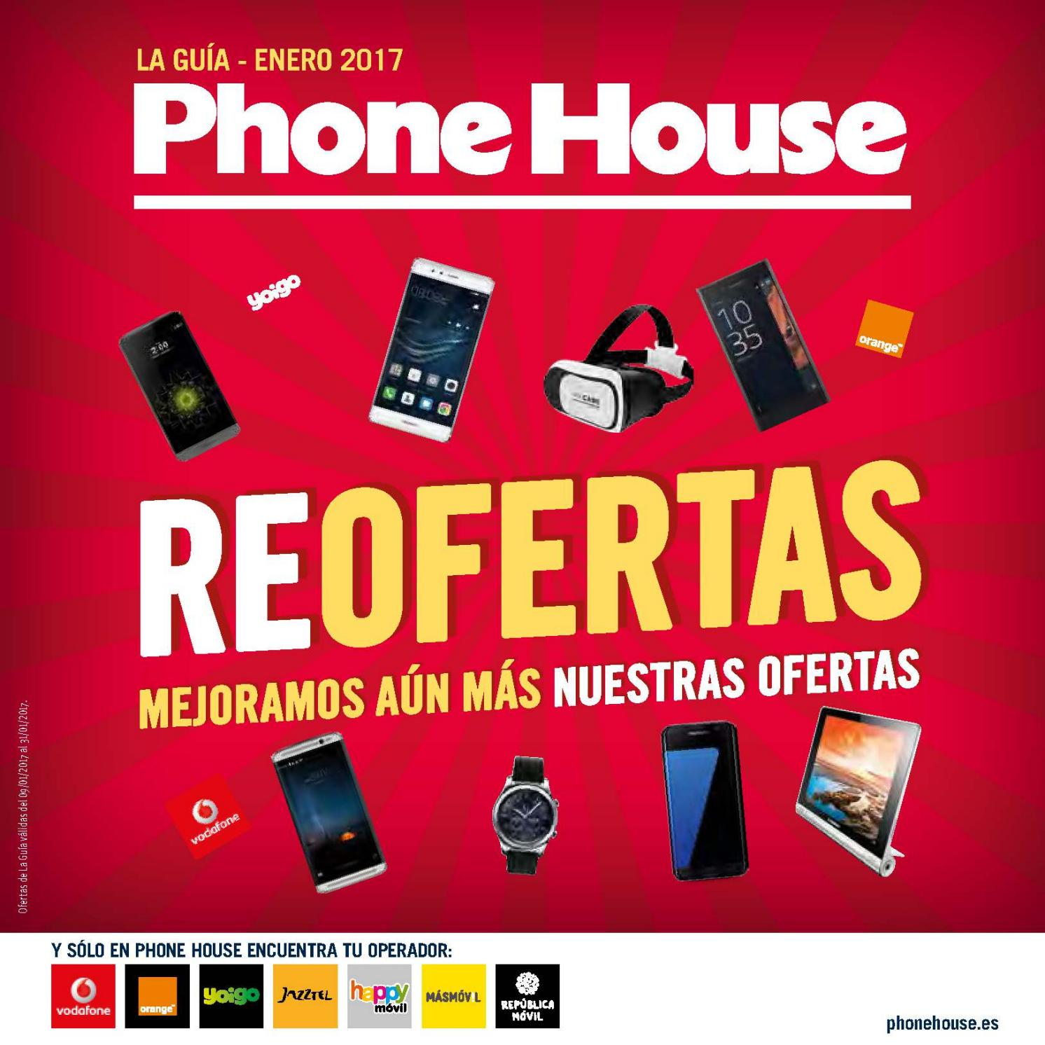 Phone House Moviles Libres Catalogo Catálogo Phone House Enero 2017 By Grupo Movitop Issuu