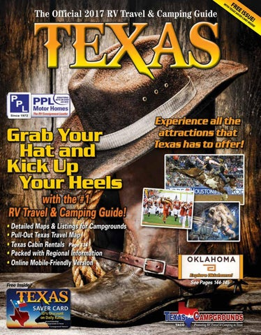 2017 RV Travel  Camping Guide to Texas by AGS/Texas Advertising - issuu