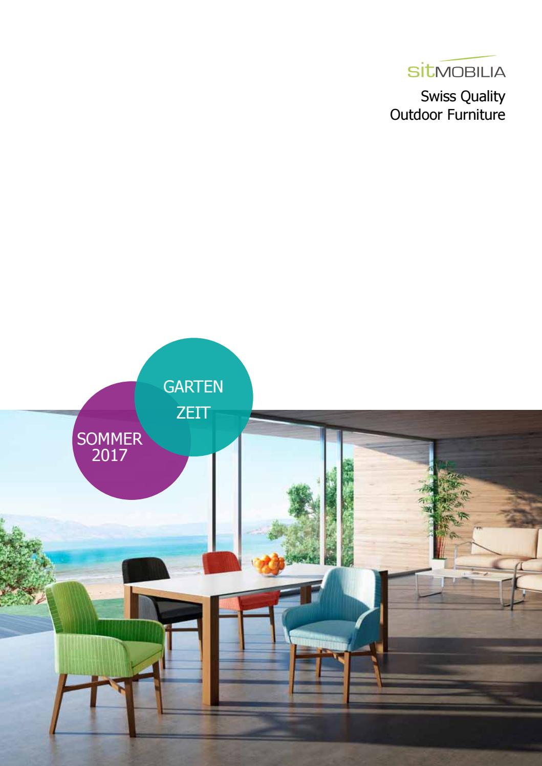 Sit Mobilia Katalog Outdoor 2017 By Joel Mauch Issuu