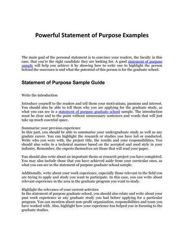 Statement of Purpose Sample Your Complete Guide to an Awesome SOP - Sample Of Statement Of Purpose