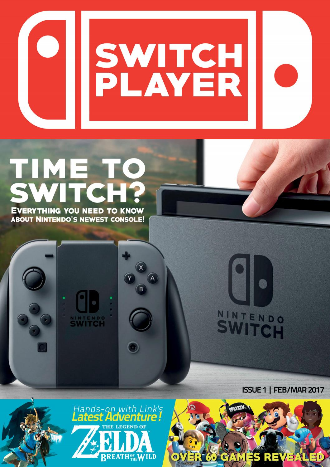 Console Magazine Switch Player Issue 1