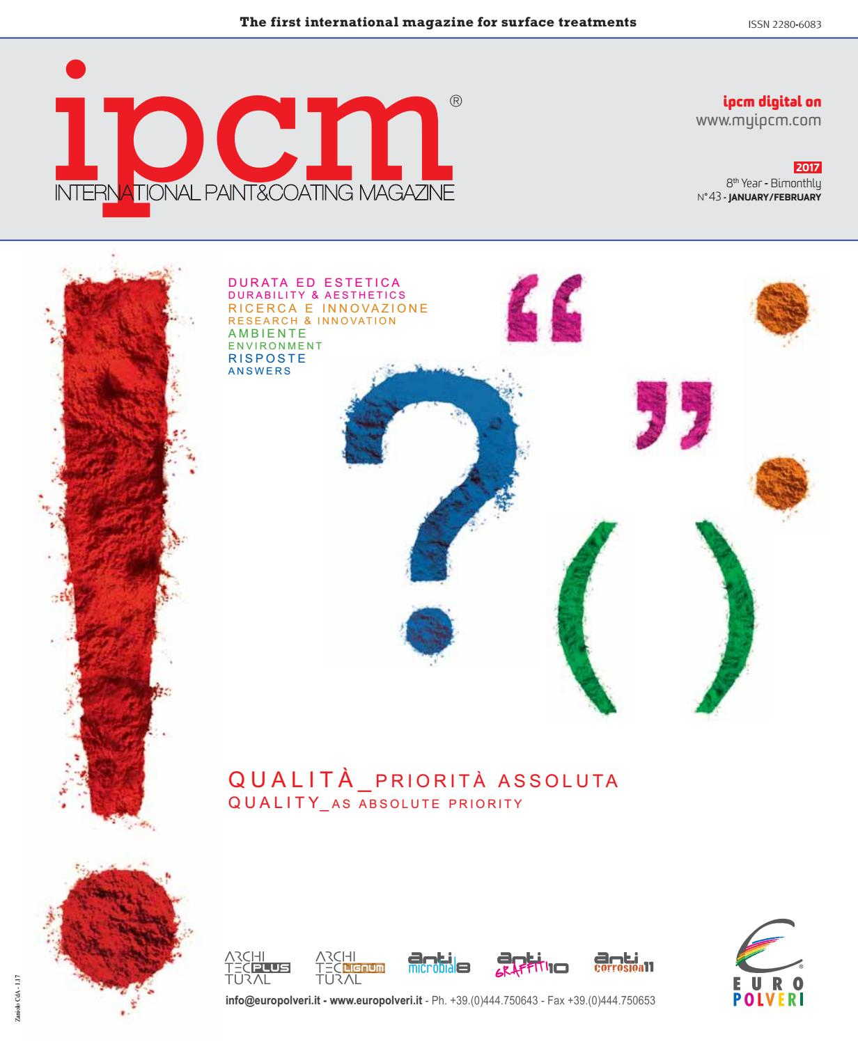Pittura Contro L' Ipcm N 43 Magazine January February 2017 English Version