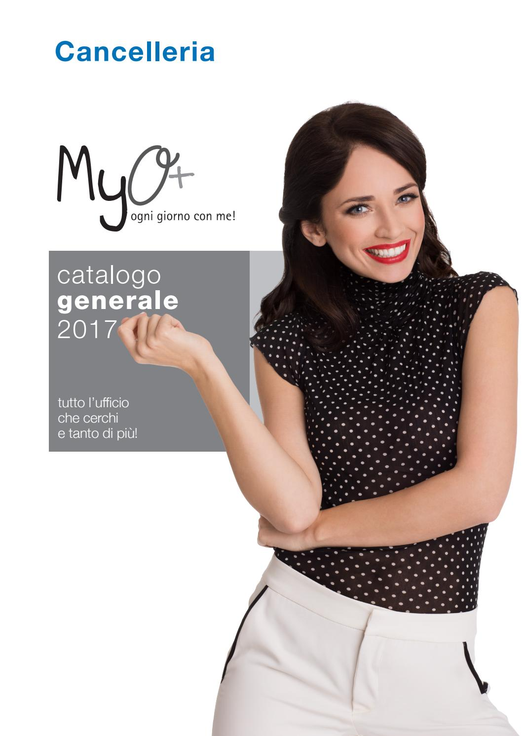 Catalogo Cancelleria Catalogo Generale Myo 2017 Gt Cancelleria By Myo S P A Issuu