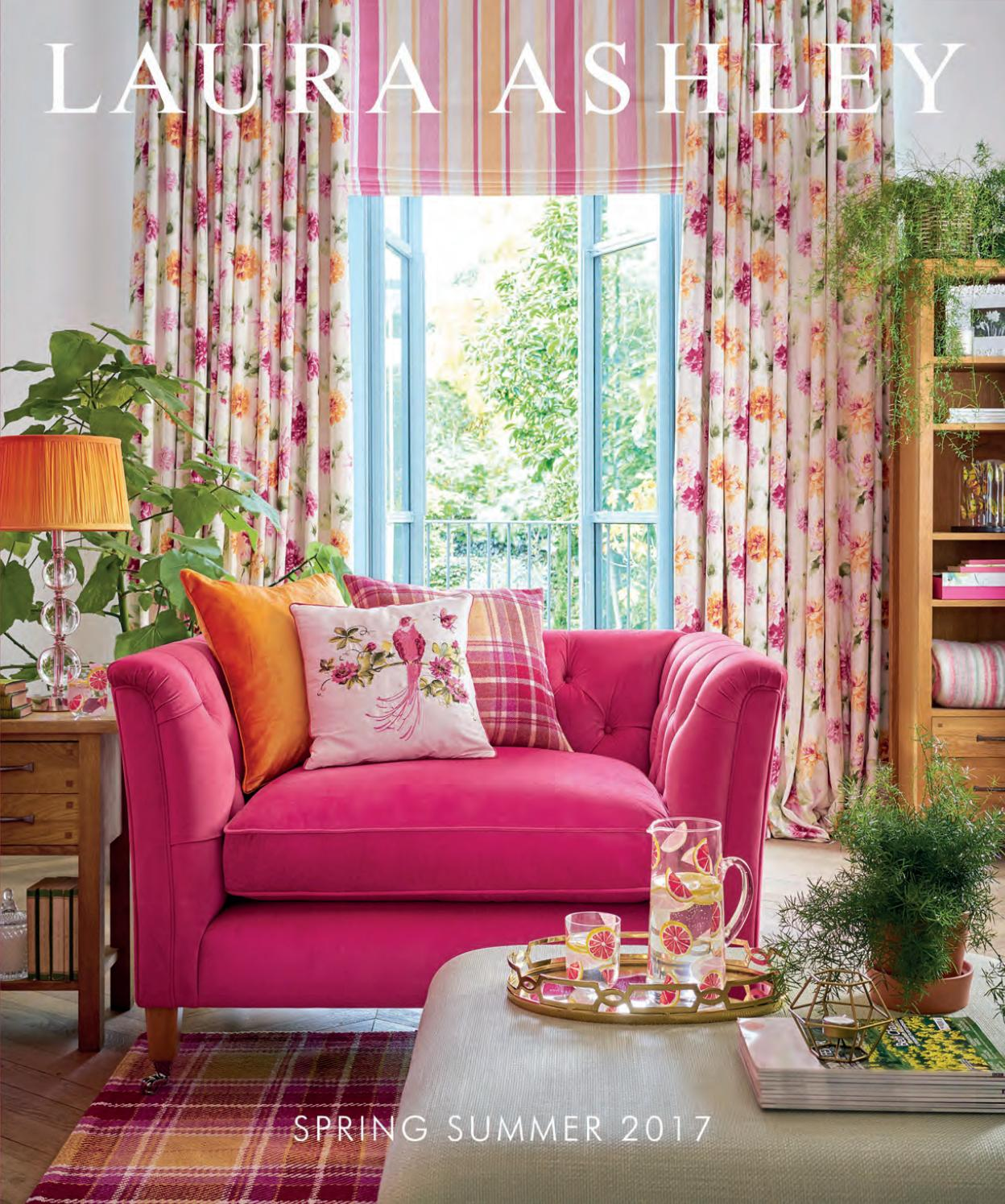 Laura Ashley Sofa Pink Laura Ashley Home Ss 2017 New Catalogue By Stanislav