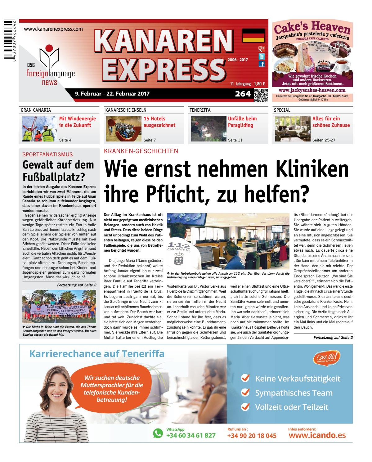 Damit Wird Das Bad Todschick Sweet Home Kanaren Express 264 Fln 56 By Island Connections Media Group Issuu