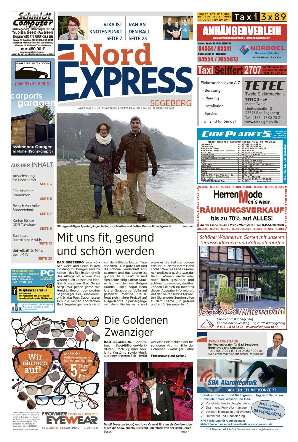 Möbel Krause Nord Express Segeberg By Nordexpress-online.de - Issuu