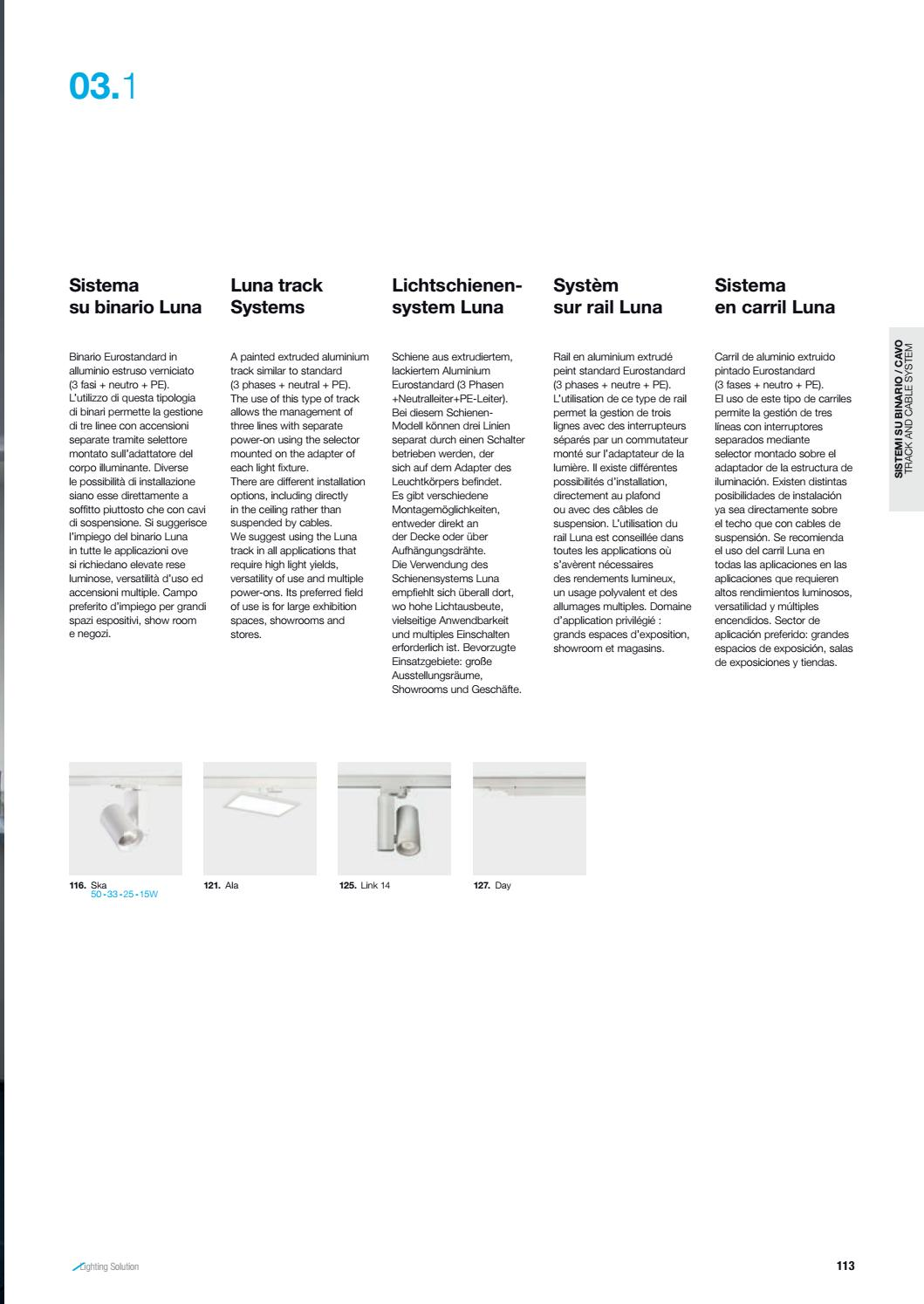 Lichtschienensystem Altatensione Catalogue By Larsa Lighting Issuu