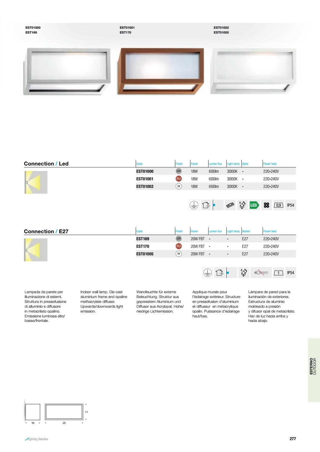 Puissance Eclairage Exterieur Altatensione Catalogue By Larsa Lighting Issuu