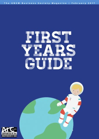 UNSW Business Society 2017 First Years Guide by UNSW Business