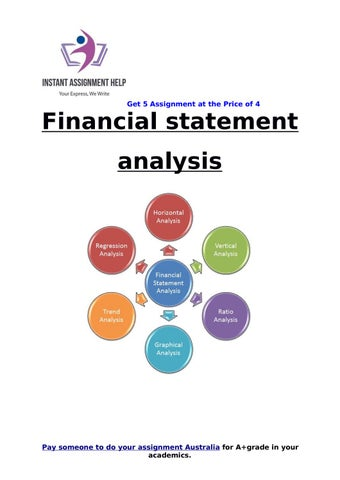 Financial statement analysis Sample for Students by Instant