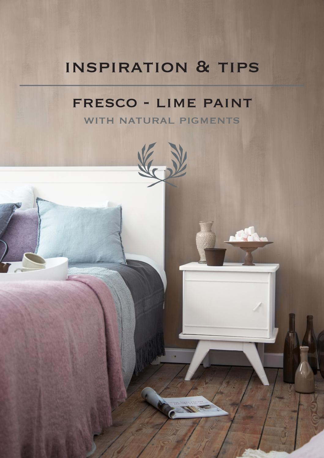 Kalkverf Muur Fresco Lime Paint Inspiration & Tips By Pure & Original