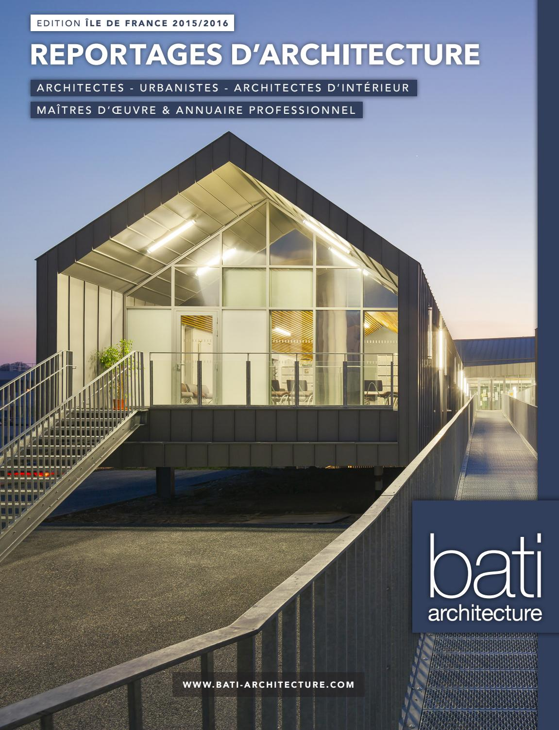 Cheminees Incandescence Herblay Revue Idf 15 16 Part 2 By Bati Architecture Issuu