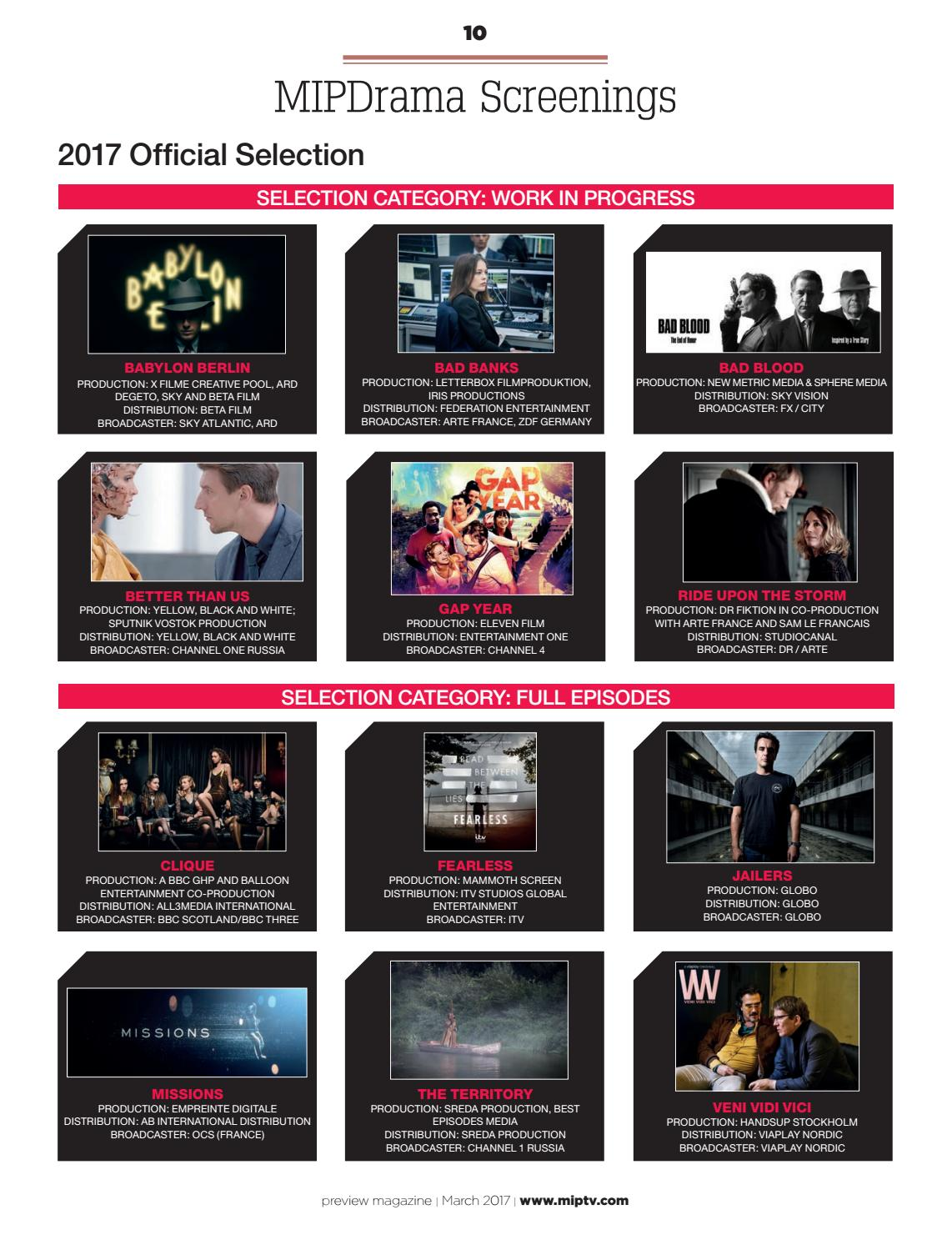 Arte France Productions Miptv 2017 Preview Magazine By Mipmarkets Issuu