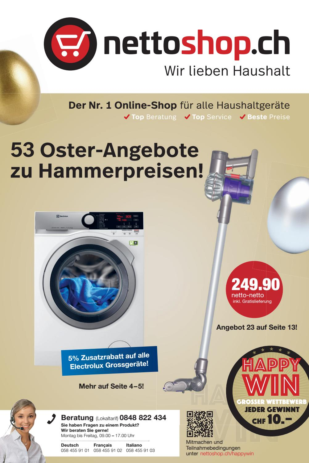 Klimagerät Nettoshop Nettoshop Ch Flyer 11 1 Deutsch März 2017 By Nettoshop Ch
