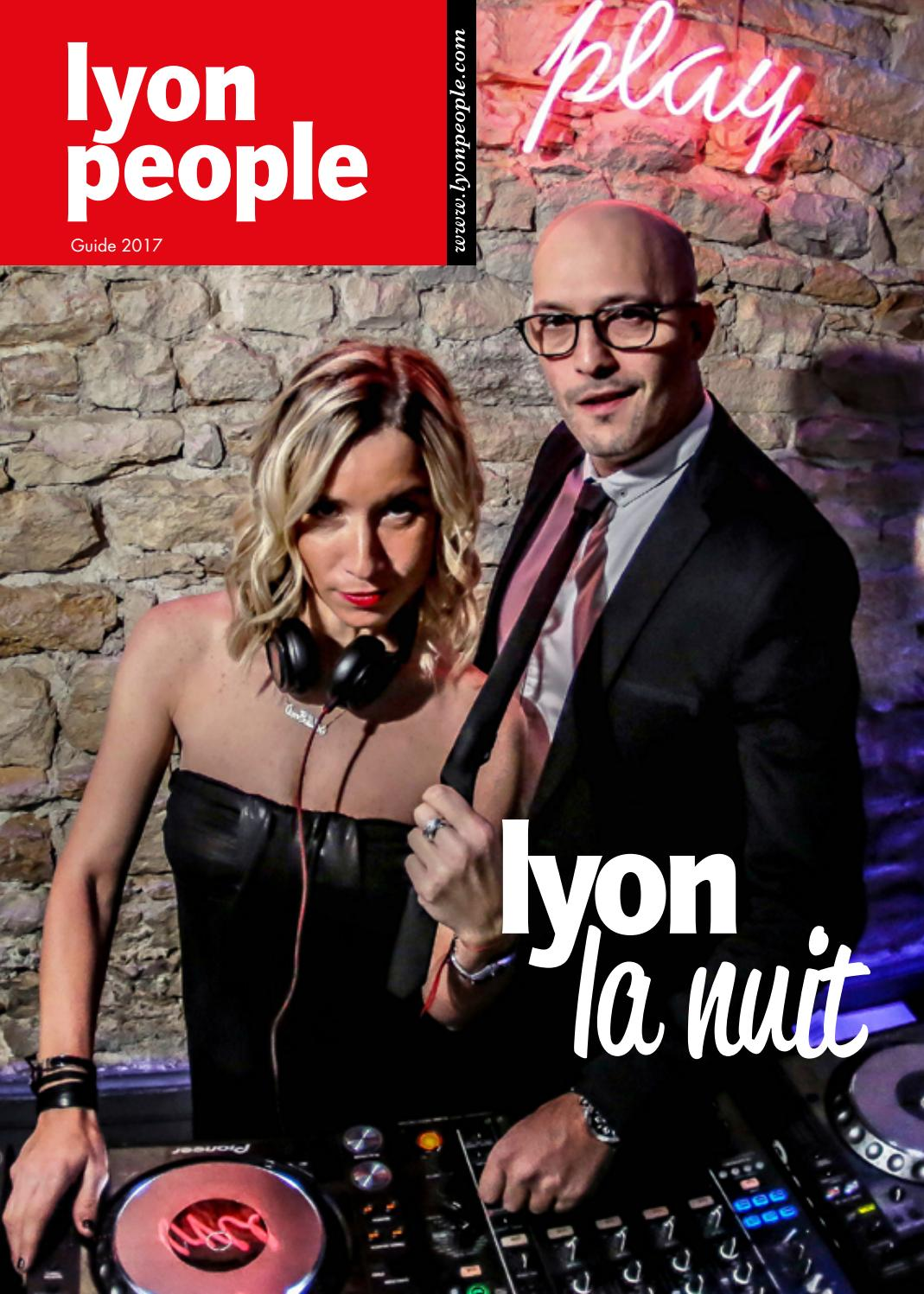 Salon Erotisme Lyon Guide De La Nuit 2017 By Lyon People Issuu