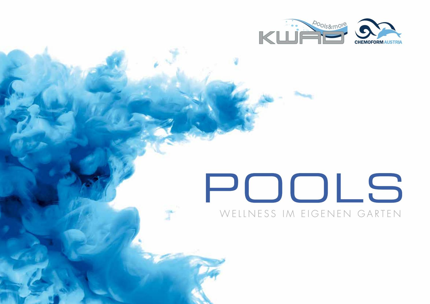 Pool Liner Rund 360 Kwad Pools 2017 By Crearteam Weißkirchen Issuu