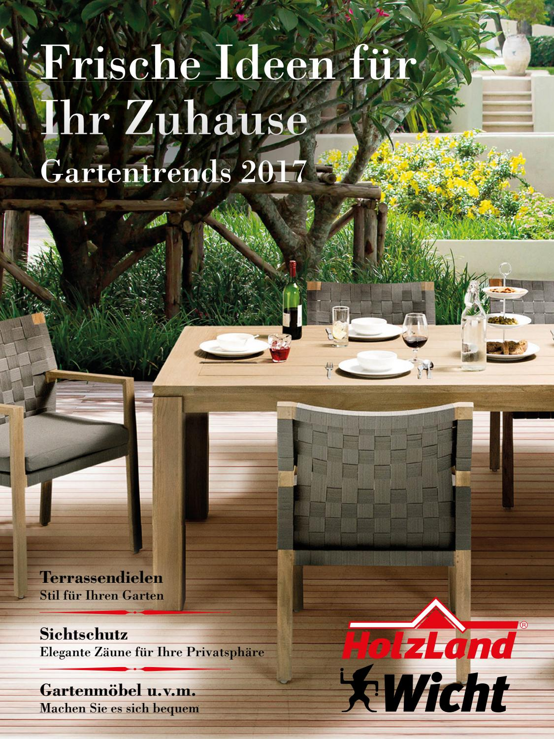Wpc Terrassendielen Extrabreit Holzland Wicht Outdoor 2017 By Kaiser Design Issuu