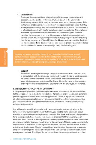 HRM guide for managers by Vrije Universiteit Amsterdam - issuu - temporary employment contract