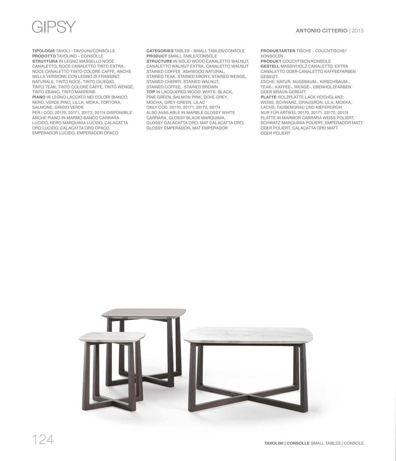 Couchtisch Noce Furnishings Catalogue Vol 2 By Flexform Issuu