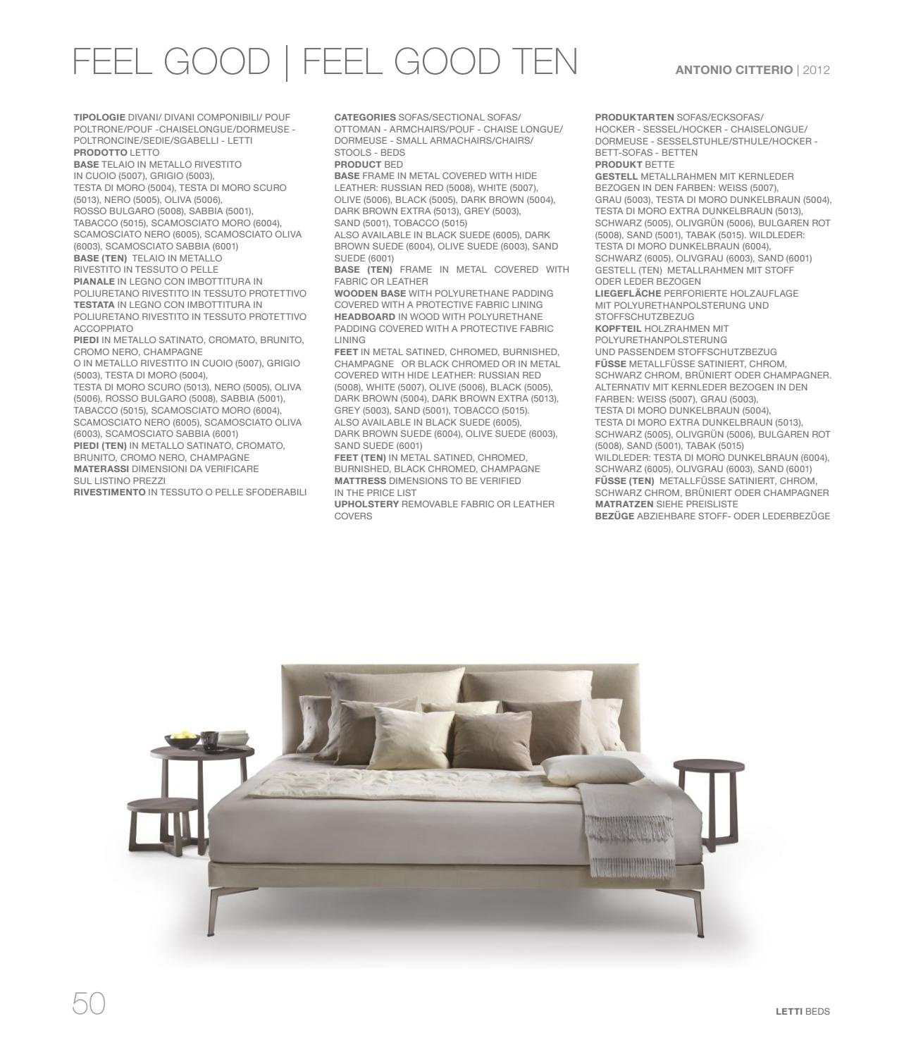 Flexform Feel Good Sessel Preis Sleeping Catalogue Vol 3 By Flexform Issuu