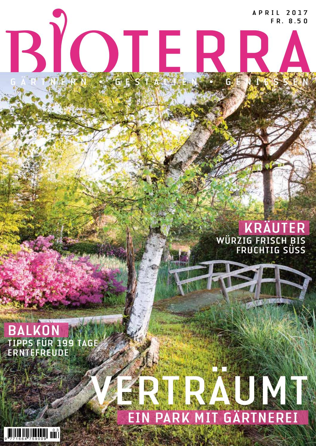 Gartenecken Gestalten Bioterra April 2017 By Bioterra Ch Issuu