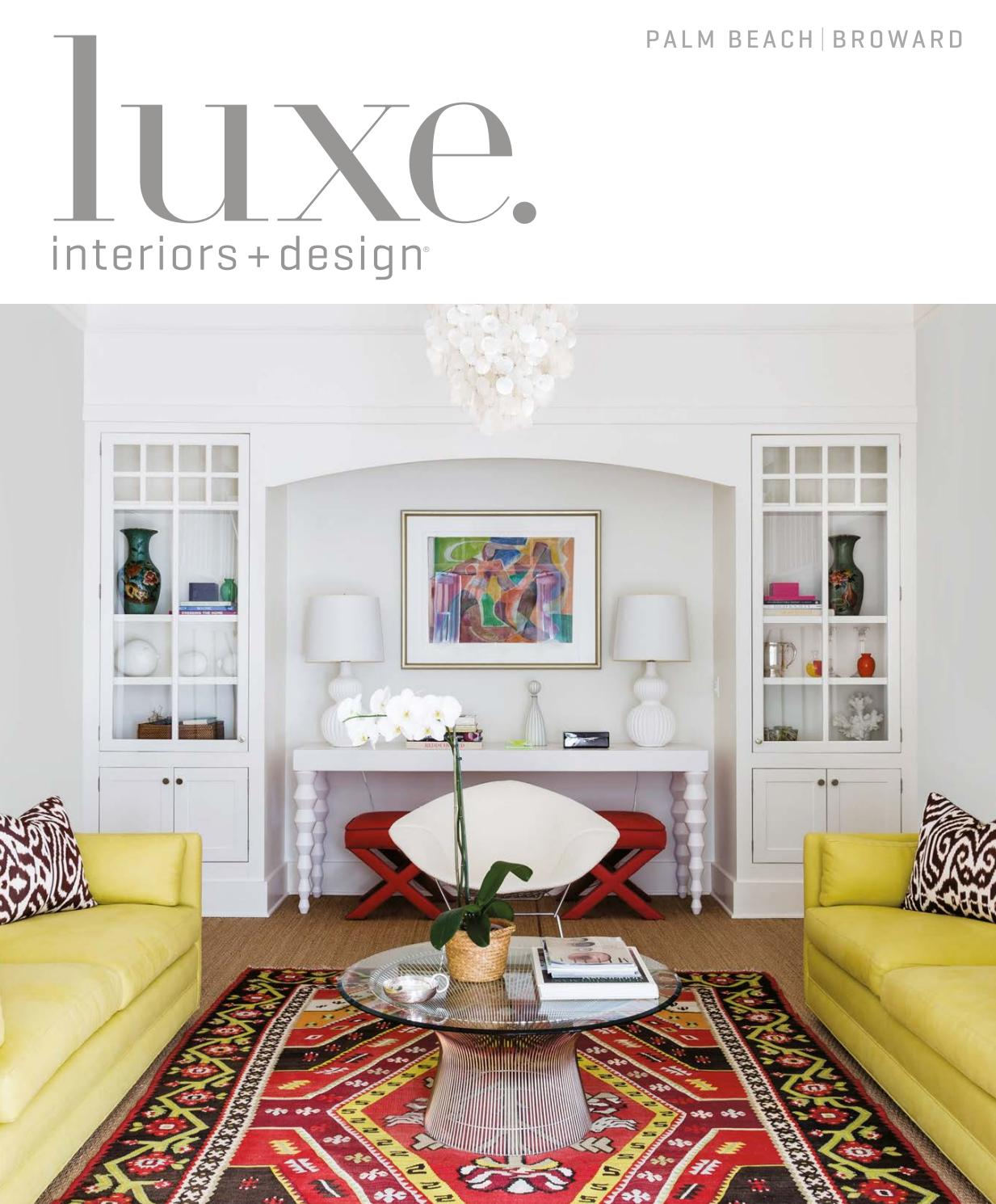 Interio Sofa Marilyn Luxe Magazine May 2017 Palm Beach By Sandow Issuu