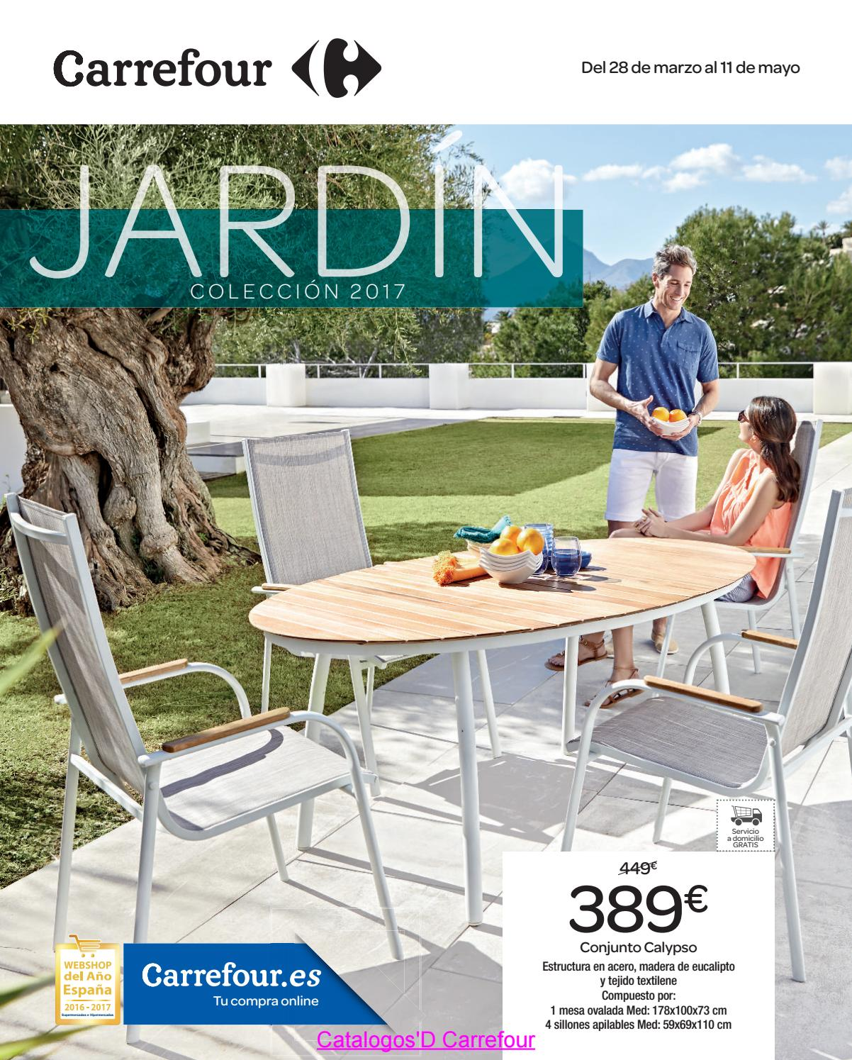Taburete Con Ruedas Carrefour Jardin Carrefour 2017 By Catalogosd By Revistas En Linea Issuu