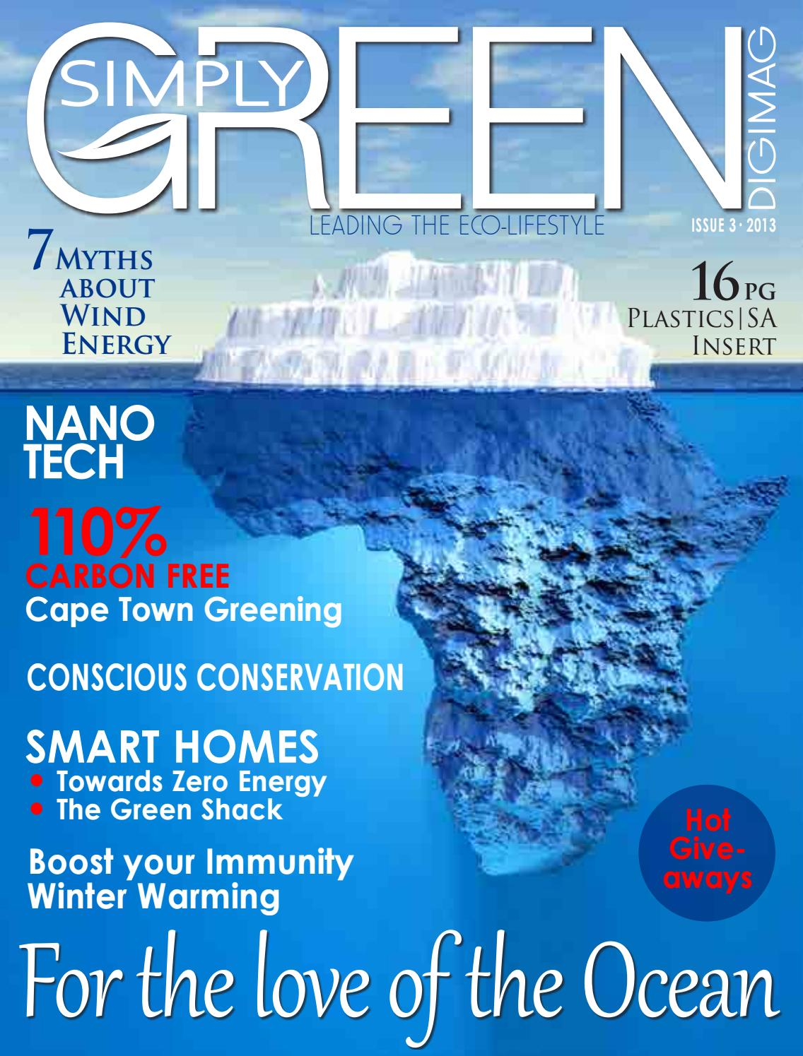 Simply Green Magazine Issue 3 2013 Lores By African News Agency Issuu
