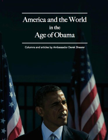 America and the World in the Age of Obama by Occidental College - issuu