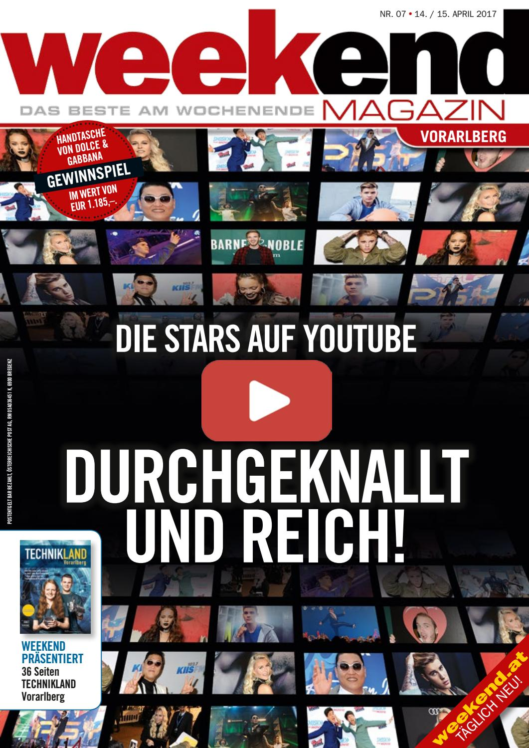 Weekend Magazin Vorarlberg 2017 Kw 15 By Weekend Magazin Vorarlberg Issuu