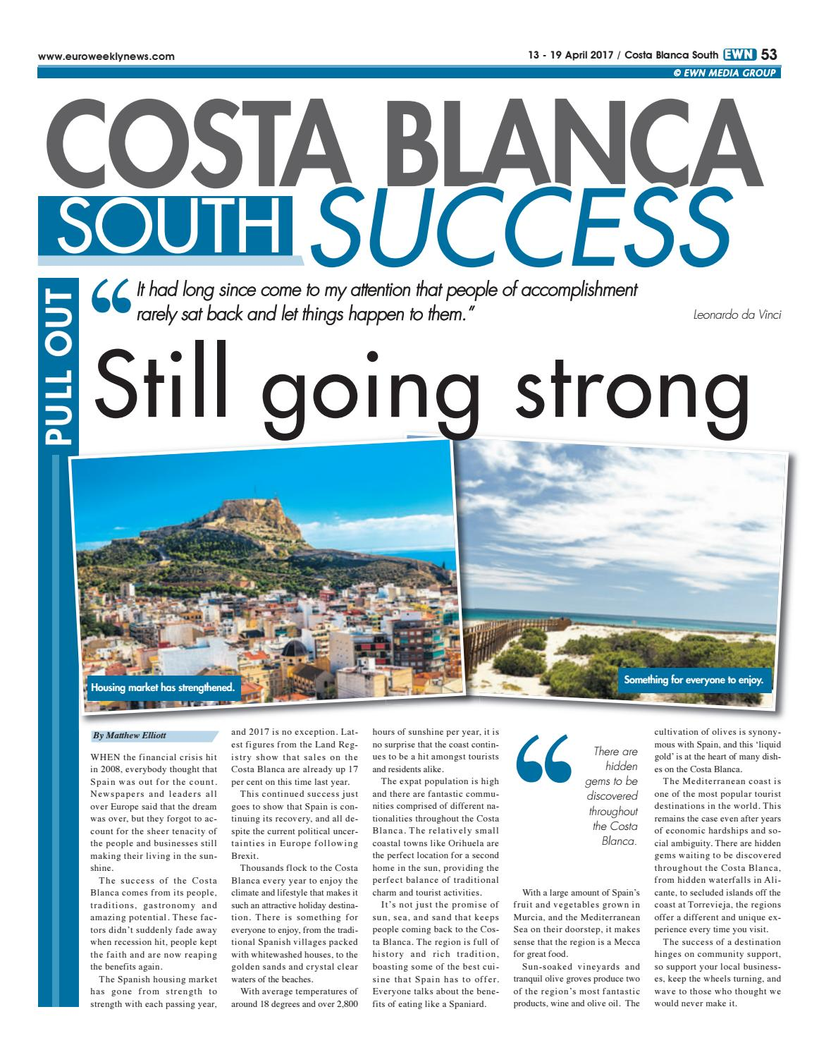 Sofaland Spain Costa Blanca South Success By Euro Weekly News Media S A Issuu