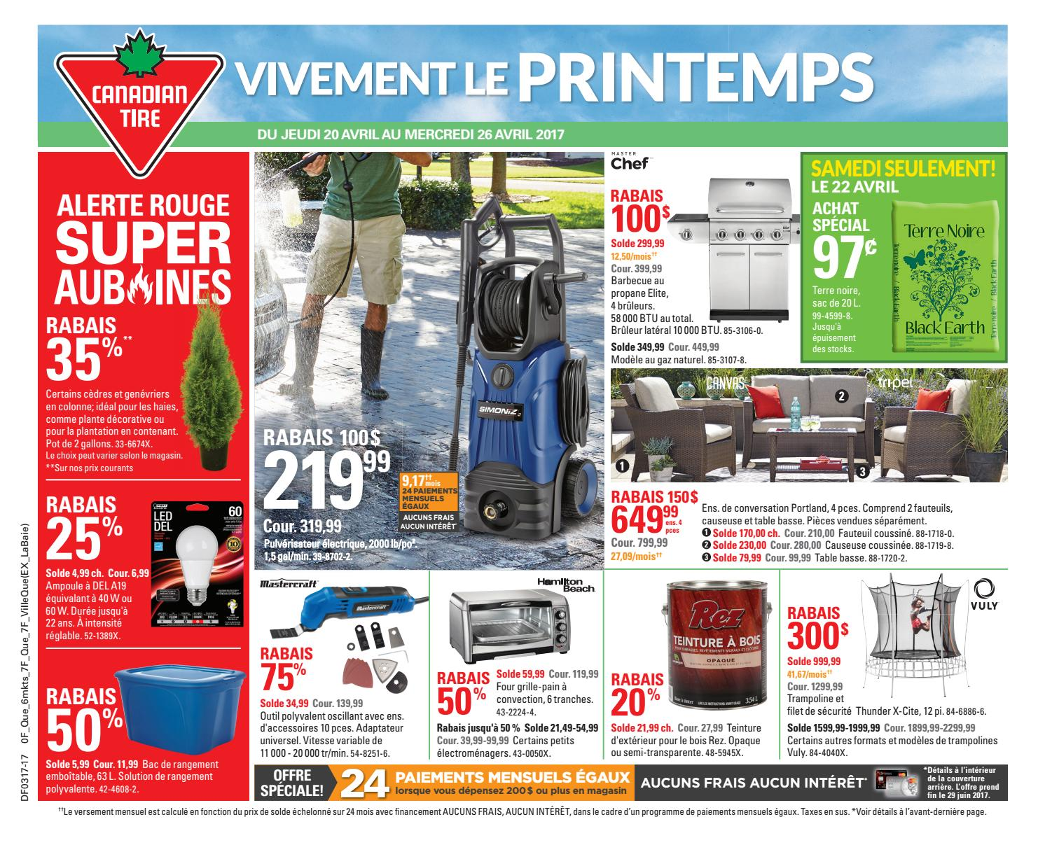 Pouf Exterieur Canadian Tire Publisac 2017 Flyer Ctc Wk17 Fr 317 7f 6mk By Salewhale