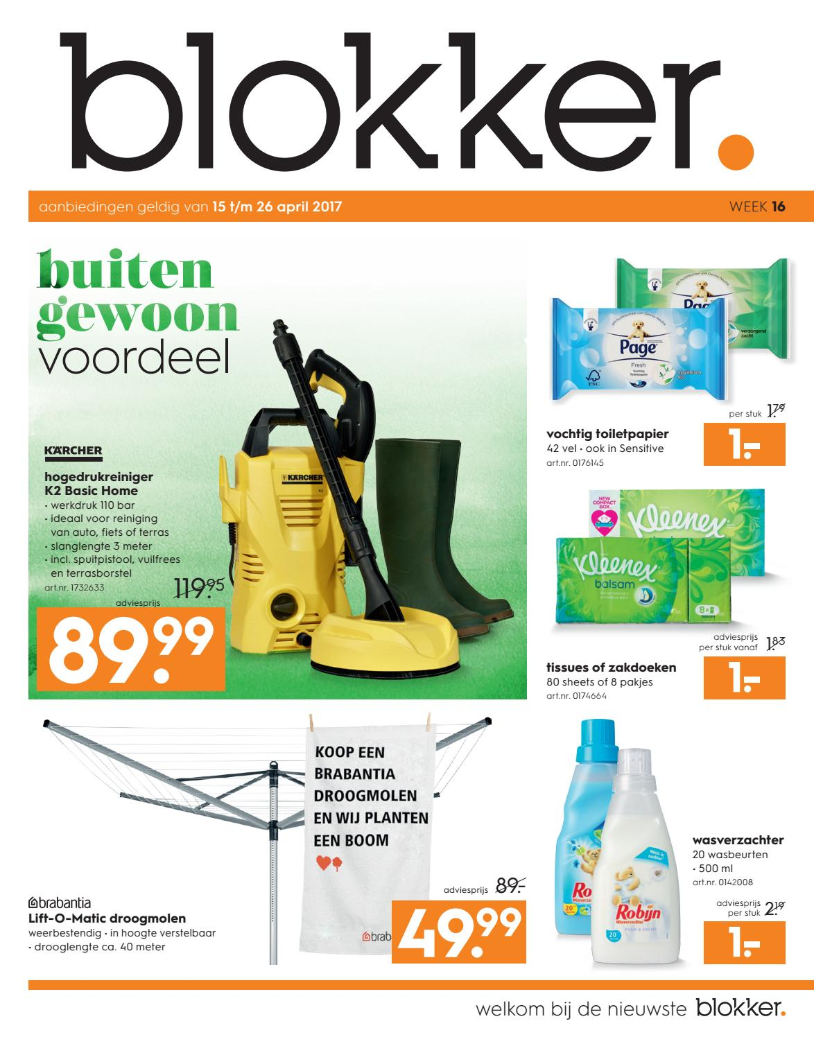 Aanbieding Droogmolen De Blokker Folder Blokker Folder Week 16 2017 By Publisher 81 Nl