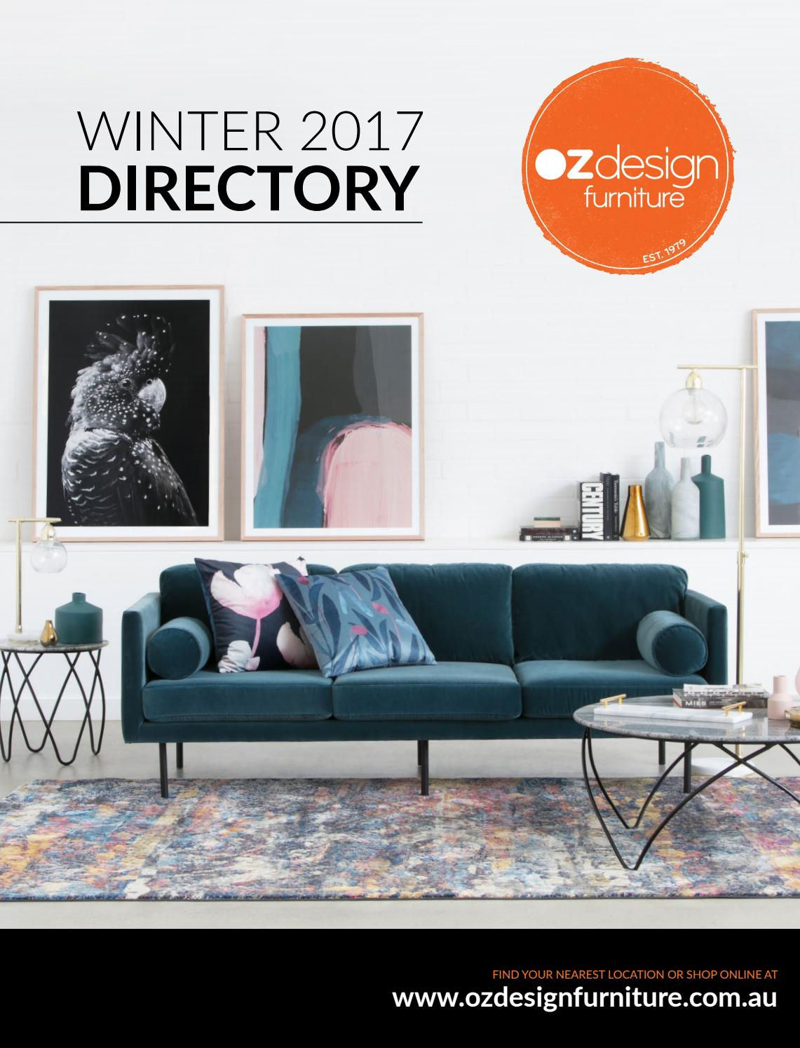Oz Design Furniture Winter 17 Directory By Oz Design Furniture Issuu