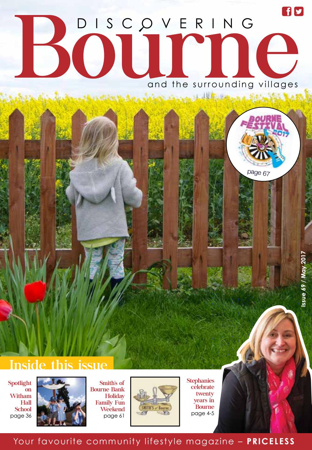 Tom Taylor Our Team Northorpe Hall Child And Family Trust Discovering Bourne Issue 069 May 2017 By Discovering Magazines