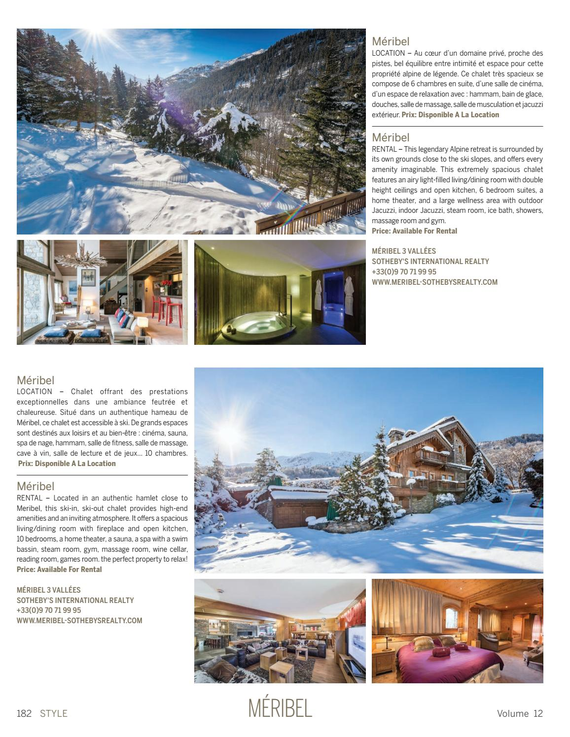 Spa Et Jacuzzi Exterieur Style Volumen 12 By Sotheby S International Realty France