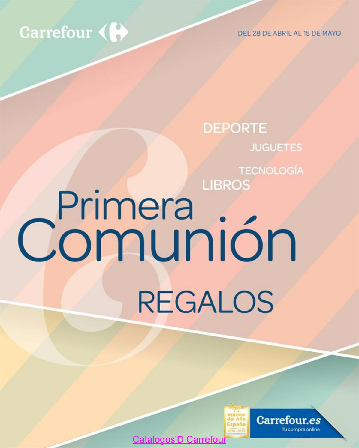 Libros Carrefour Catalogosd Carrefour Comunion 17 By Revistas En Linea Issuu