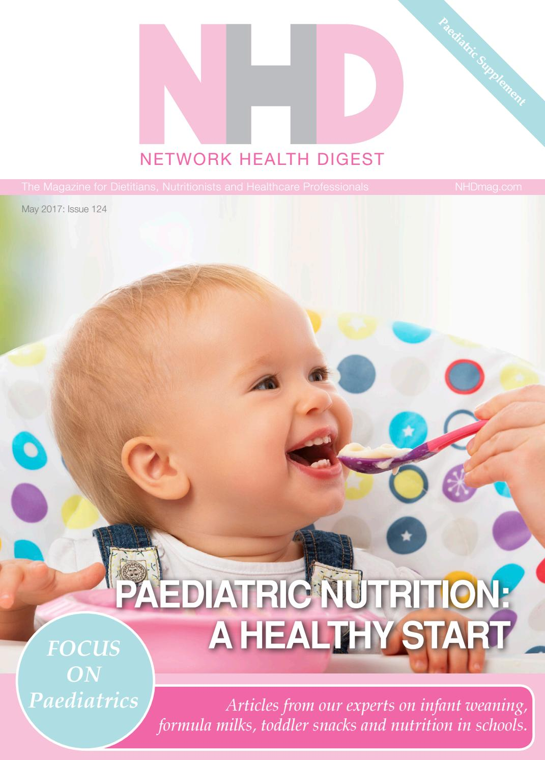 Weaning A Baby Off Formula Nhd Focus On Paediatric Nutrition By Nh Publishing Ltd Issuu