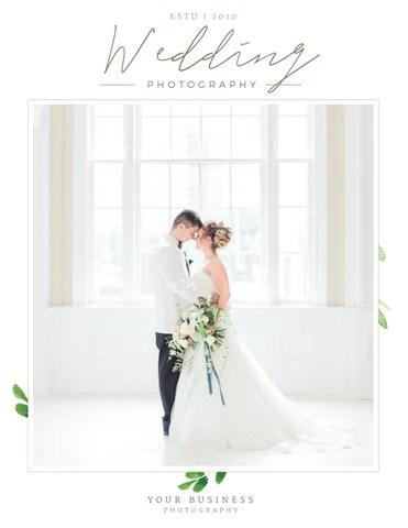 Wedding Photographer Magazine Template - Photo Studio Magazine