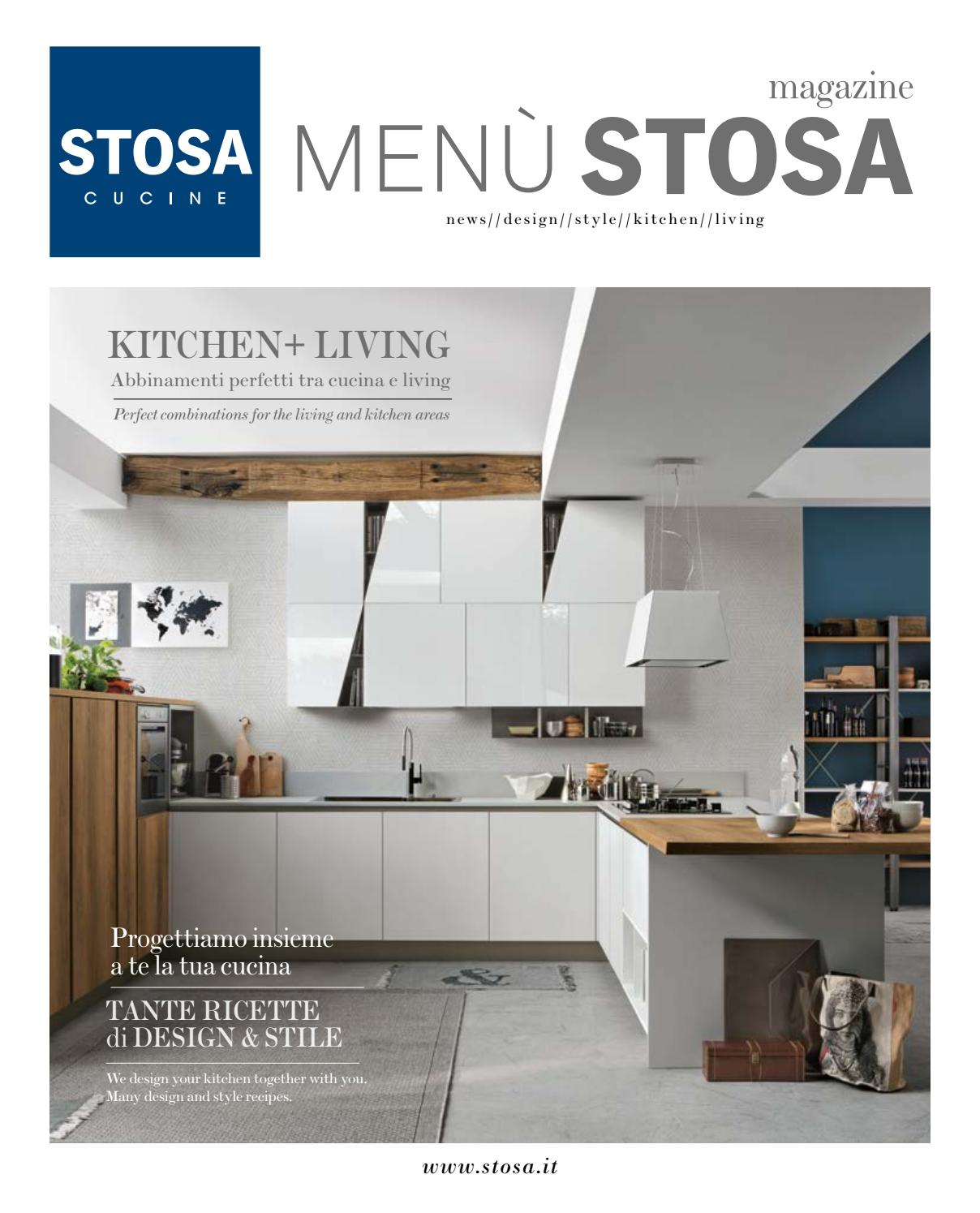 Cucina Stosa Effetto Cemento Menù Stosa 2017 By Stosa Cucine Issuu