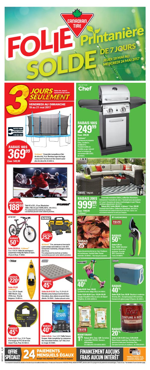 Pouf Exterieur Canadian Tire Publisac 2017 Flyer Ctc Wk21 Fr 7f By Salewhale Issuu